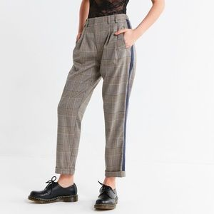 Light before Dark plaid pants high rise size XS